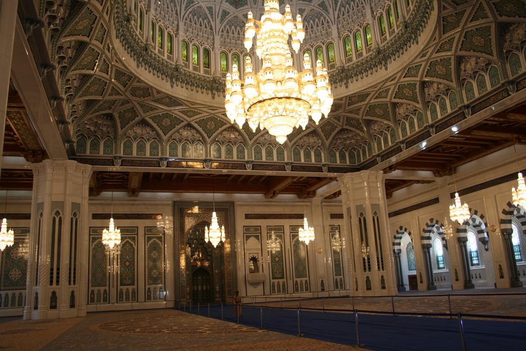 Sultan Qabus Moschee Muscat
