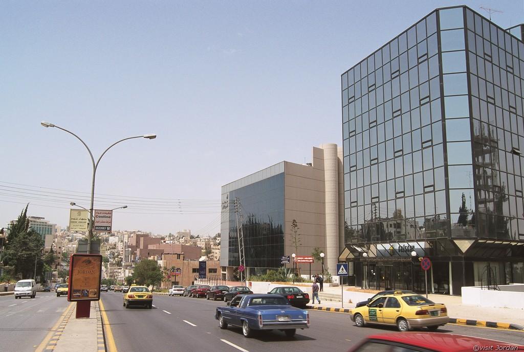 Amman die Hauptstadt Jordaniens