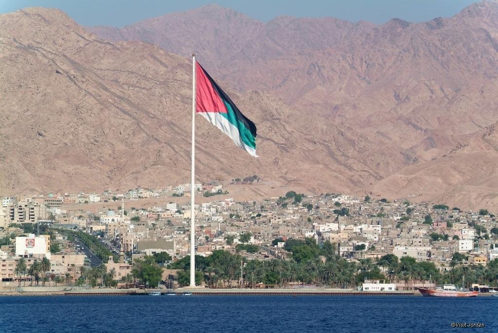 Hafenstadt Aqaba, Jordanien