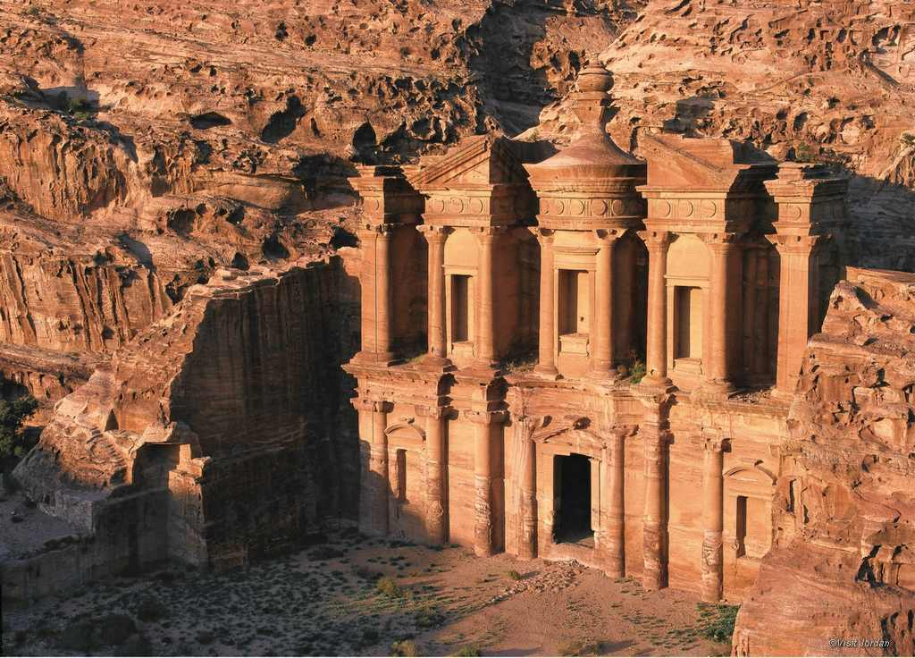 Nabatear Stadt Petra