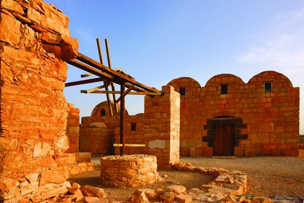 Amra Schloss, Jordanien