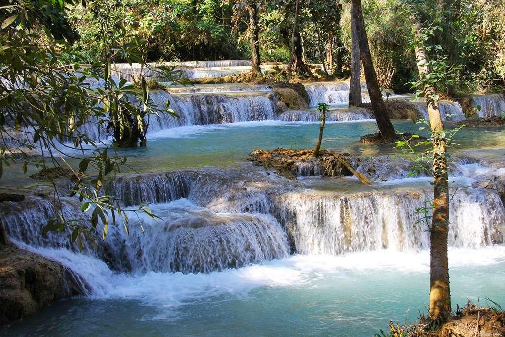 Kuangsi-Wasserfall, Lao