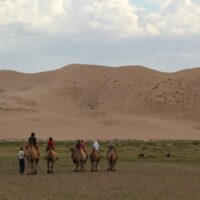 Khongor Sanddüne, Mongolei