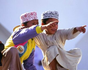 Oman, Kinder