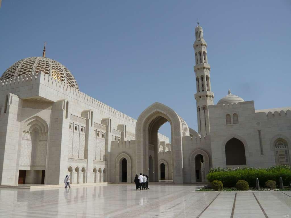 Sultan Qaboos Moschee Muscat