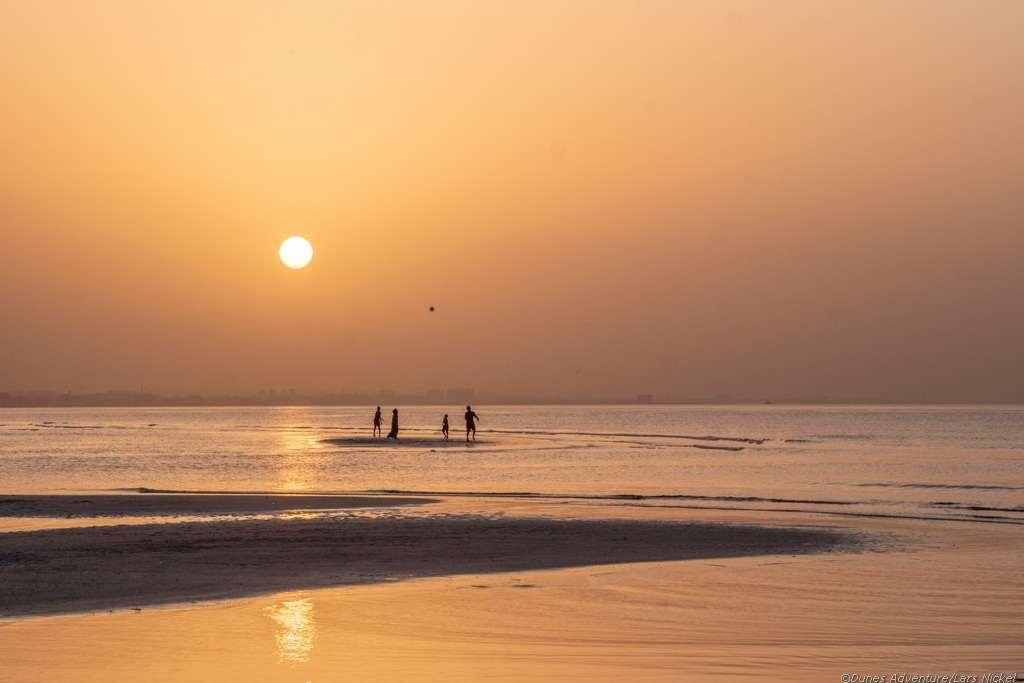 Muscat, Strand, Sonnenuntergang