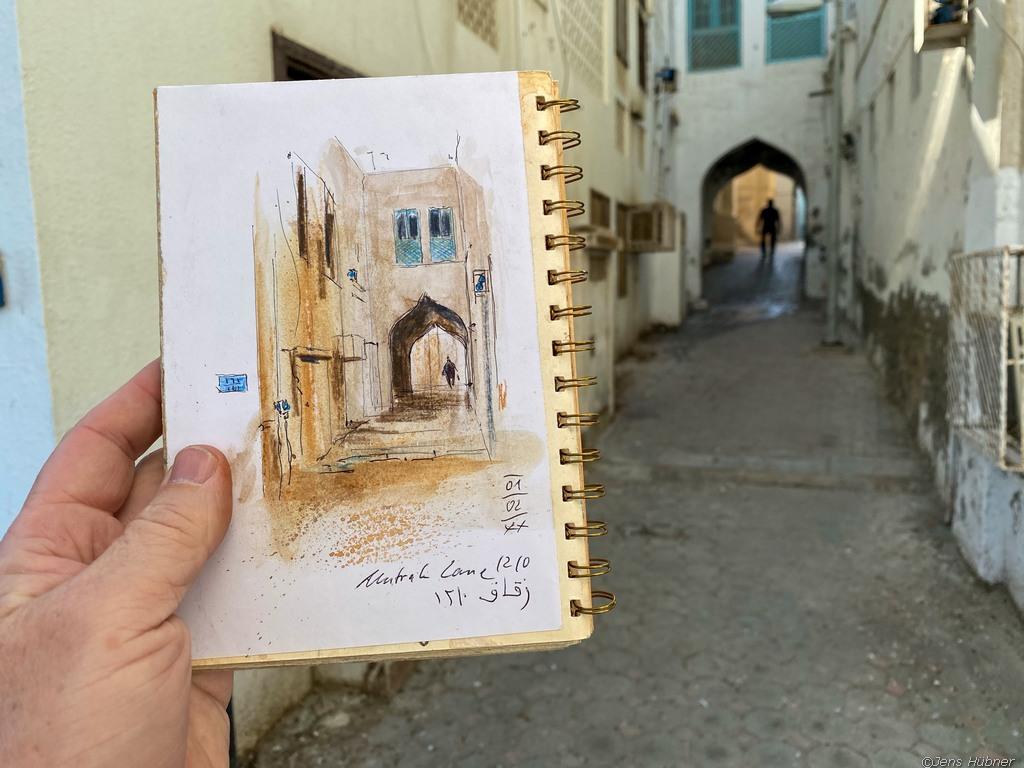Malreise Oman 2020