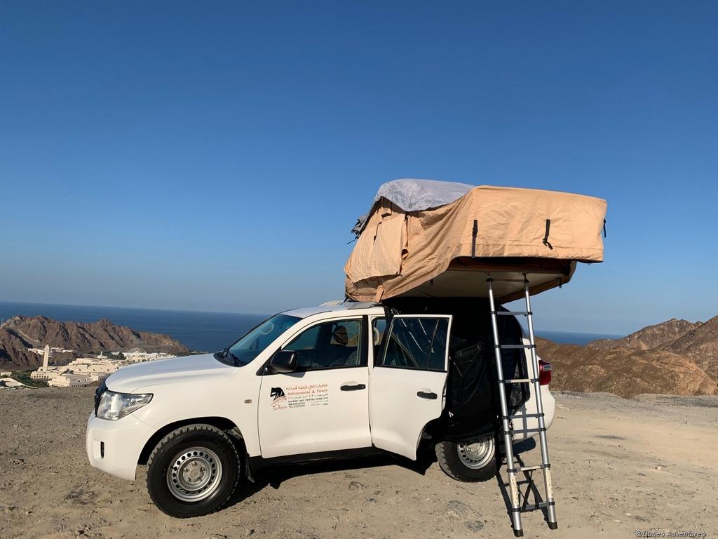 Oman Aufdachzelt