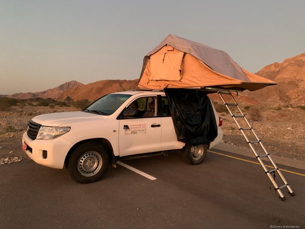 Mietwagenreise mit Aufdachzelt im Oman