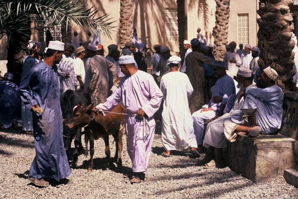 Freitagsmarkt in Nizwa, Oman