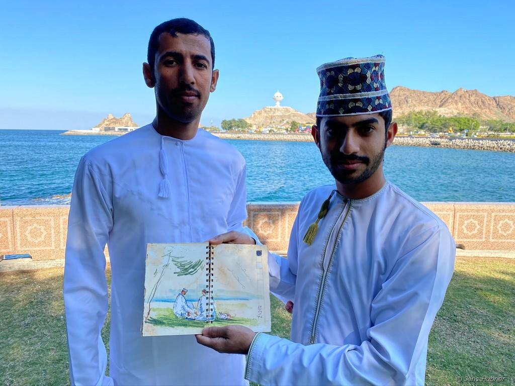 Am Uferpromenade in Muttrah, Oman