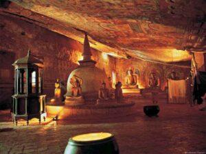 Dambulla Tempel, Srilanka