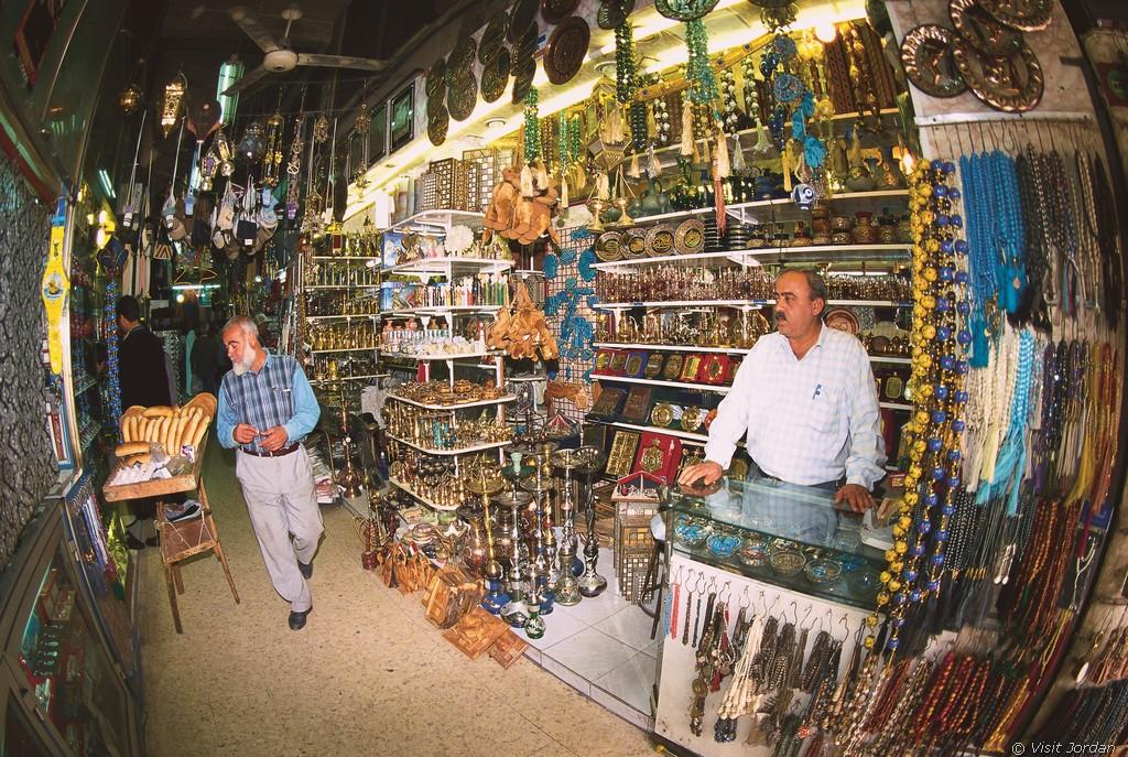 Bazar in Amman, Jordanien