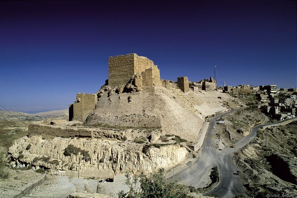Kreuzritter Festung Kerak, Jordanien