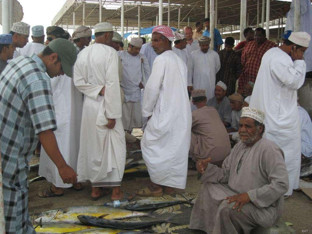 Fischmarkt in Barka