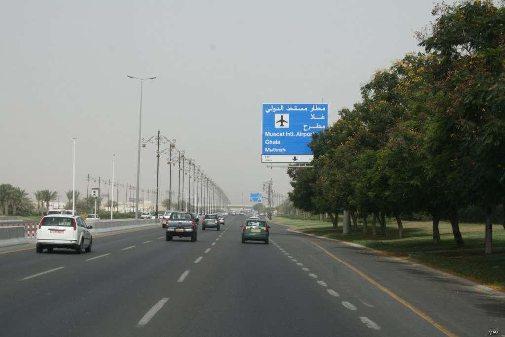 Gute Strassen im Oman